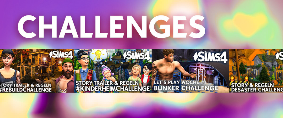 Die Sims 4 Challenges